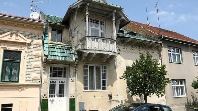 Dům v královopolské Jungmannově ulici projektoval architekt Dušan Samo Jurkovič.