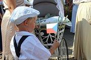 Tišnovští v sobotu oslavovali sto let od založení samostatné Československé republiky. Program tvořila dechová muzika, dobové divadlo nebo i tanec charleston