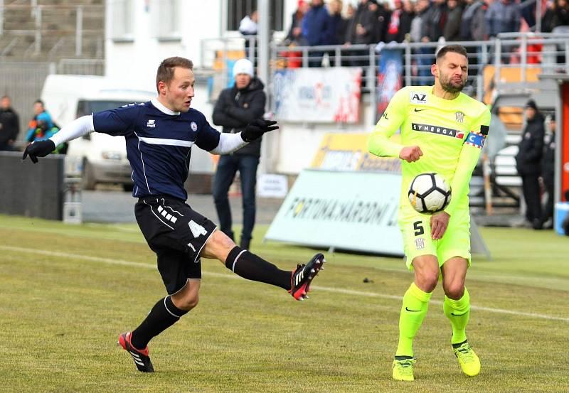 Fotbalisté Zbrojovky se utkali s třetiligovým Vyškovem.