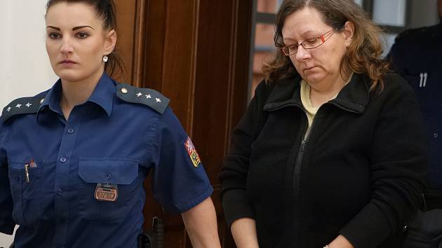 Dana Niederlová u Krajského soudu v Brně. Obžaloba ji viní z toho, že z firmy na Brněnsku vyvedla více než 110 milionů korun.