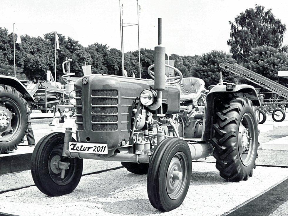 Zetor 2011 se Zetormaticem kolem roku 1960.