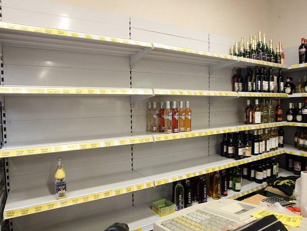 Obchody a restaurace na Brněnsku stáhly tvrdý alkohol z nabídky.
