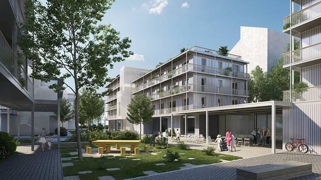 Ve vnitrobloku při brněnské Francouzské ulici vyroste 93 družstevních bytů.