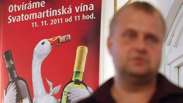 Obliba svatomartinského vína každým rokem stoupá.