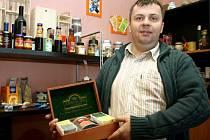 Majitel firmy Bolsito Mojmír Zelený