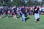 Městská policie Brno dnes pořádala dvanáctý ročník sportovního dne.