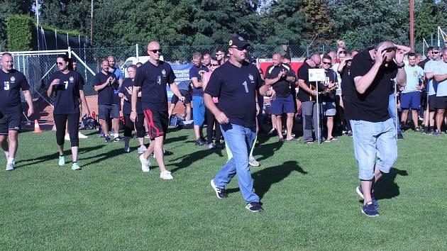 Městská policie Brno dnes pořádala dvanáctý ročník sportovního dne
