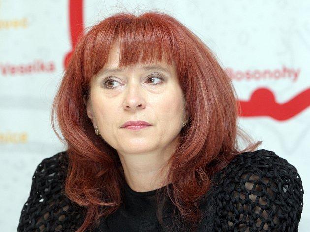 Ředitelka Masarykova okruhu Ivana Ulmanová.