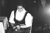 Libuše Domanínská v roli Jenůfy v Národním divadle Brno.