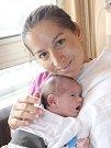 Valerie Chromík z Brna s maminkou Martinou.