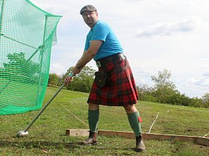 Skotské hry Monte Bú Highland Games