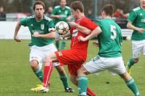 Nedělní derby mezi Líšní a Bystrcí skončilo remízou 0:0.