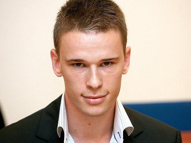 Martin Durek u brněnského soudu.