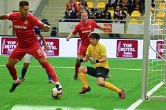 Čeští reprezentanti v malém fotbale vstoupili vítězně do mistrovství světa hráčů do 21 let.