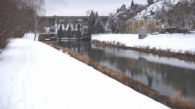Vodní nádrž Brno.
