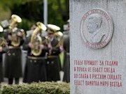 Vzpomínkový akt na čestném pohřebišti brněnského Ústředního hřbitova u příležitosti 71 let uplynulých od osvobození Brna.