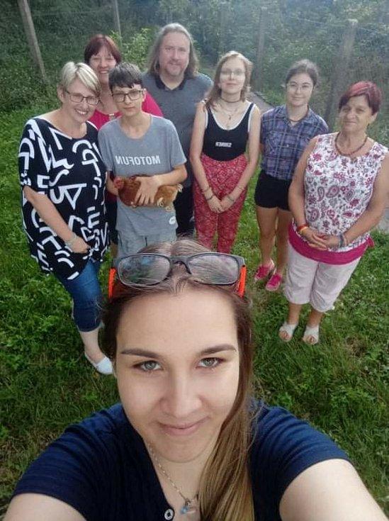 Společně proti samotě se na pikniku sešli lidé také v Sokolnic na Brněnsku.