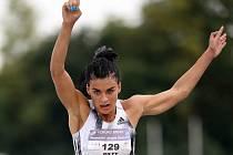 V trojskoku žen se představí také Dovilė Kiltyová z Litvy, manželka sprintera Richarda Kiltyho.