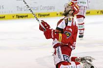 Hokejový útočník Tomáš Svoboda doufá, že podobně se bude z branek radovat i v dresu brněnské Komety.