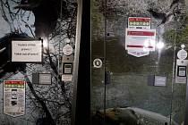 Záchody na Kraví hoře nefungují.