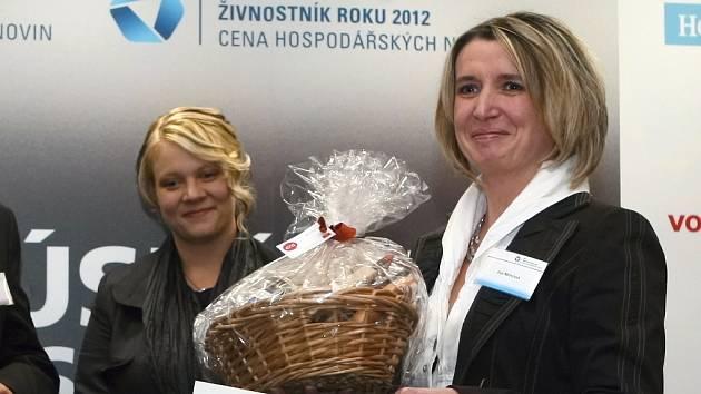 Krajské kolo soutěže Živnostník roku 2012 vyhrála Eva Němcová ze Žeravic na Hodonínsku.