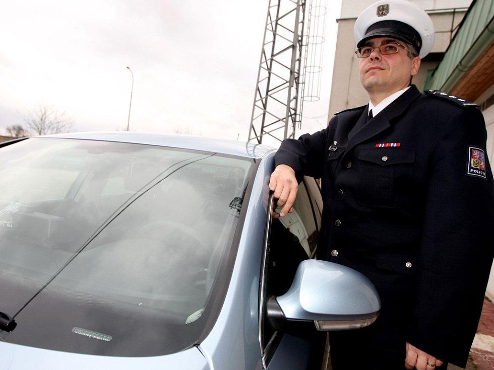 Volkswagen Passat - nový policejní vůz.
