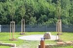 Údolí vzpomínek na hřbitově v brněnské Líšni.