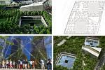 Snøhetta Architecture Landscape Architecture, Civitas, Thorton Tomasetti, 4ct (New York – Denver – Praha): National September 11, Memorial Museum Pavilion, New York, Spojené státy americké. Vizualizace.