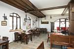 Restaurace Sluneční dvůr v Brně.