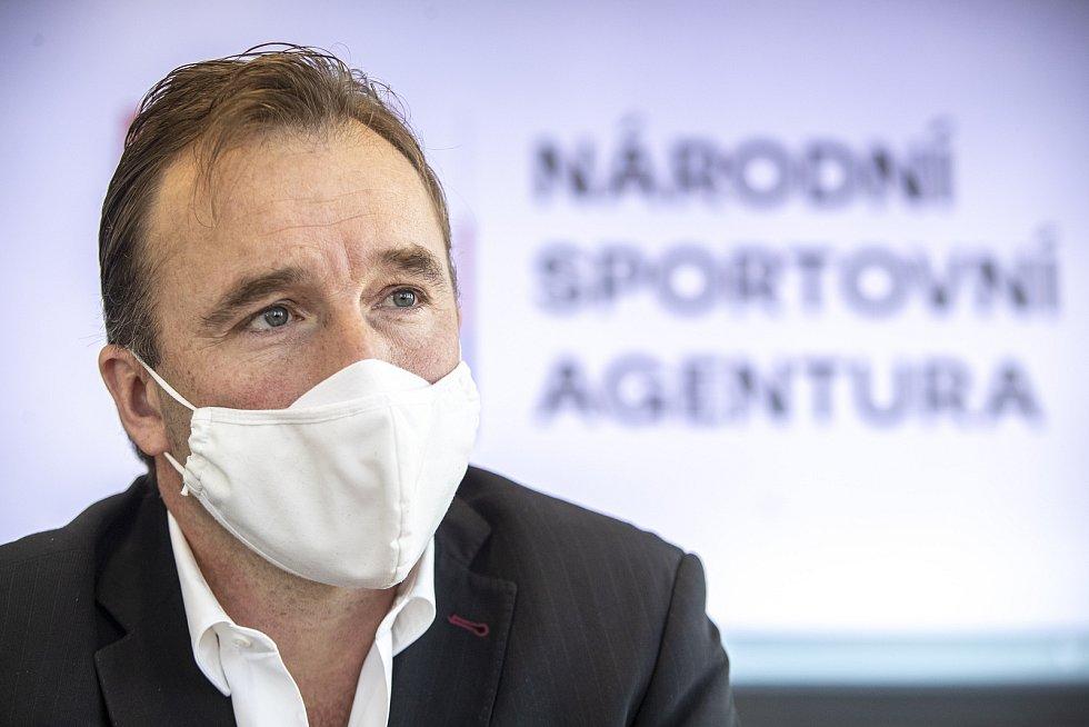 Milan Hnilička, předseda Národní sportovní agentury.