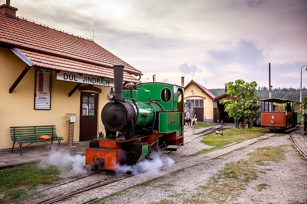 15. května zahajuje sezonu Muzeum průmyslových železnic ve Zbýšově na Brněnsku.