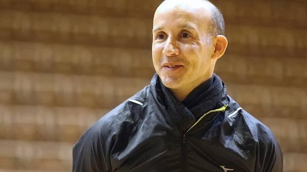 Nový trenér volejbalistek z Králova Pole André Christoph González.