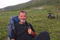 Mikulovan Zdeněk Grůza (na snímku) byl mezi prvními čtyřmi Čechy, kteří došli k vodopádu Kinzeljuk v neprostupné tajze na Sibiři. Reportáž o nich odvysílala i ruská televize.