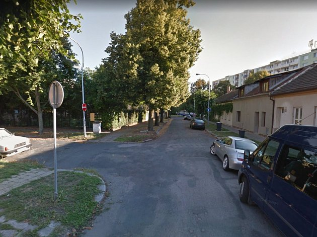 Taussigova ulice v Židenicích.