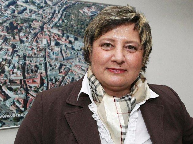 Marie Zezůlková z Kanceláře strategie města.