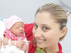Lea Mohylová nar. 25.10.2008 s maminkou Lenkou