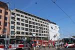 Dům u hlavního nádraží z třicátých let čeká v blízké době rekonstrukce.