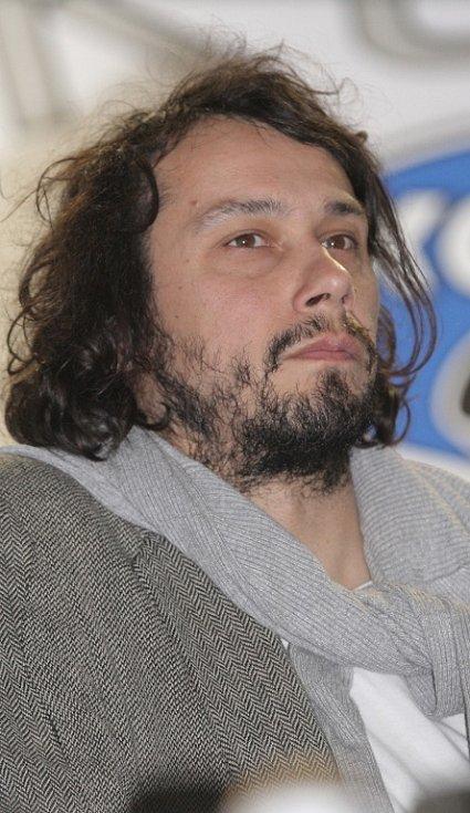 Na hokejové utkání dorazil i herec Pavel Liška.