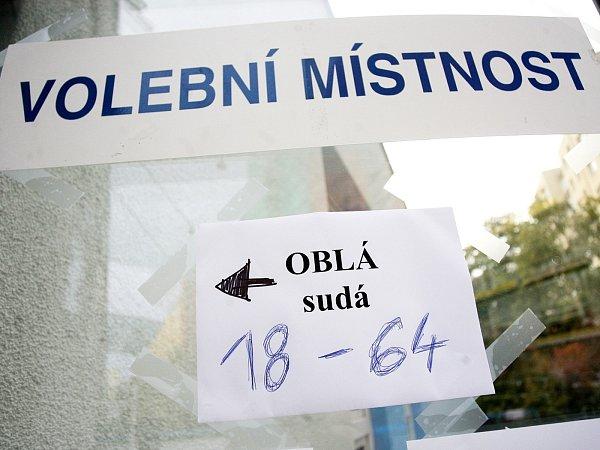 Volby vbrněnském Novém Lískovci.