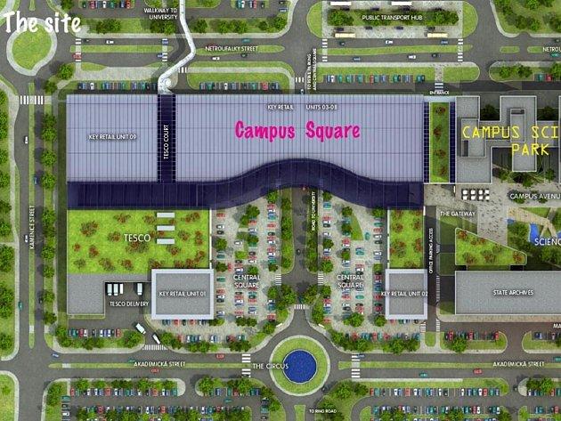 Campus náměstí.