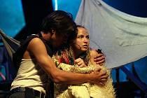 Známý příběh loupežnické dcery Ronjy od Astrid Lindgren převádí na prkna dětkého divadla Radost česko - polský tým tvůrců. Pohádka má tématicky blízko k příběhu Romea a Julie.
