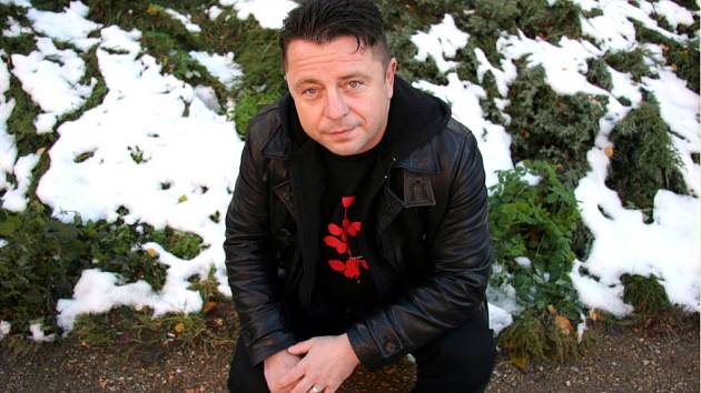 Zpěvák Petr Muk