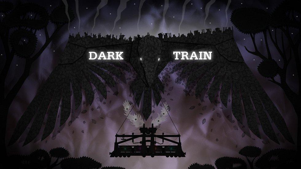 Dark Train – umělecká hra. Steampunková adventura vyrobená z papíru.