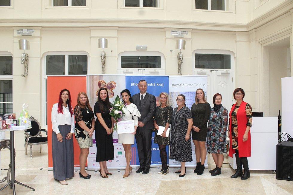 Finalistky soutěže 11. ročníku soutěže Žena regionu.