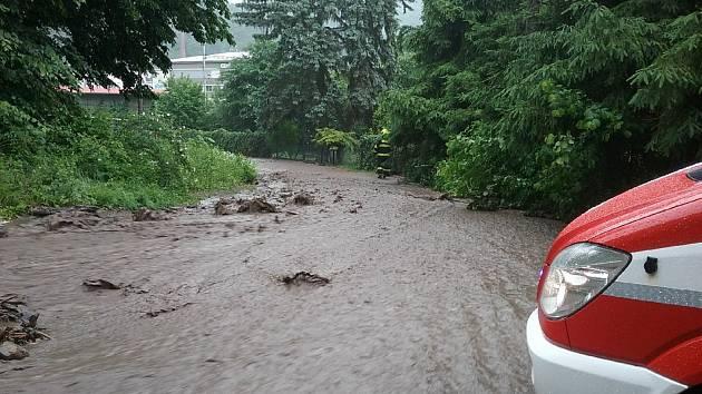 Nedělní deště a bouřky zasáhly jižní Moravu.
