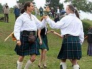 V areálu koupaliště na Kraví Hoře v Brně se v sobotu konaly skotské hry Monte Bú Highland Games 2017.