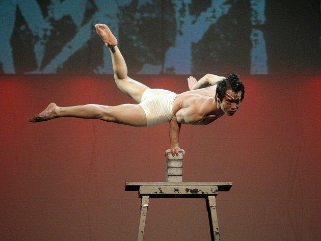 V premiéře do Brna zavítal Čínský národní cirkus, který divákům v městské hale ve Vodově ulici představil akrobatickou show Feng Shui: Životní harmonie.