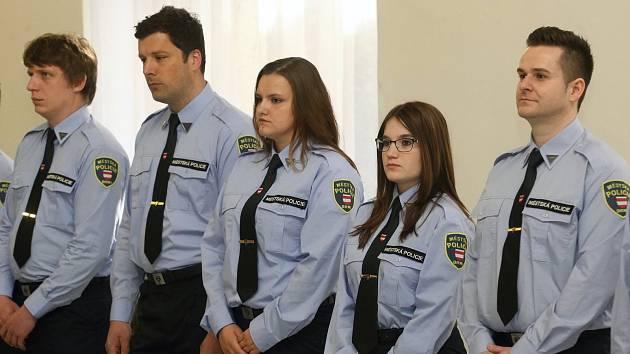 Mladí strážníci. Ilustrační foto.