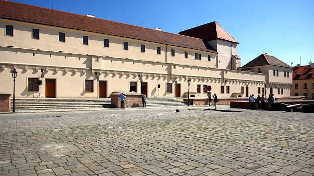 Brněnský hrad Špilberk - ilustrační foto.
