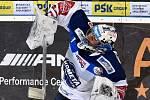 HC Kometa Brno v bílém (Marek Čiliak) proti HC Vítkovice